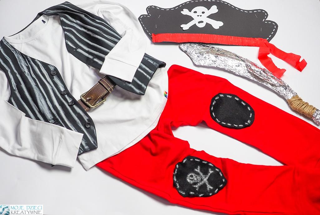 strój piracki dla dziecka, przebranie pirat, pomysły na przebranie dla dziecka, przebrania dla dzieci, strój karanwałowy dla dziecka
