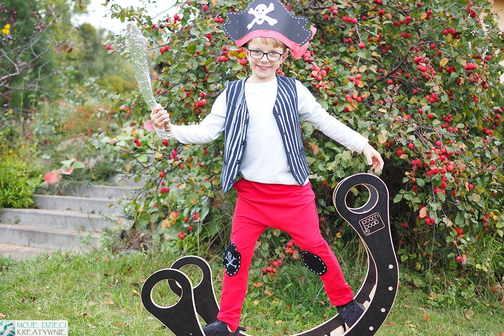 moje dzieci kreatywnie przebrania dla dzieci, pirat przebranie, strój pirata dla dziecka, jak zrobić strój piracki