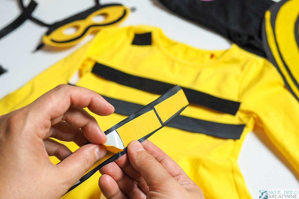 jak zrobić szybki strój dla dziecka, proste przebranie dla dziecka, przebrania dla dzieci bez szycia