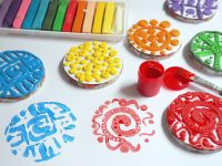 techniki plastyczne dla dzieci, ciekawe prace plastyczne, pomysły na prace z plasteliny