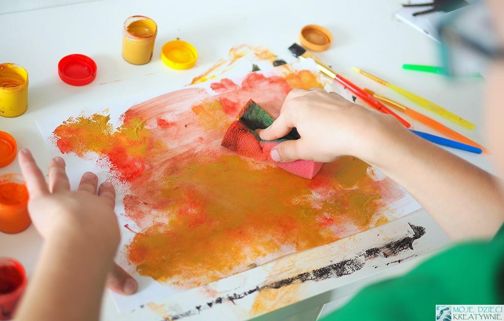 techniki plastyczne dla przedszkolaków
