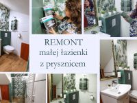 remont łazienki ciekawe inspiracje i pomysły na urządenie małej łazienki z prysznicem.