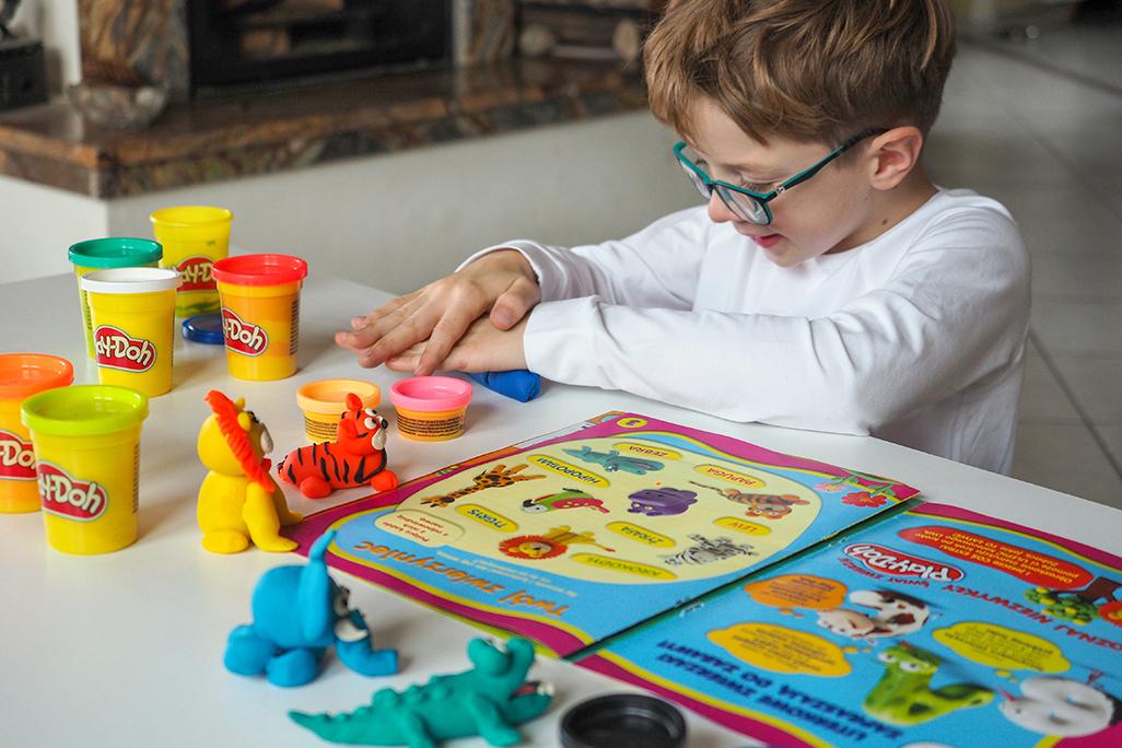 play doh pomysły na figurki