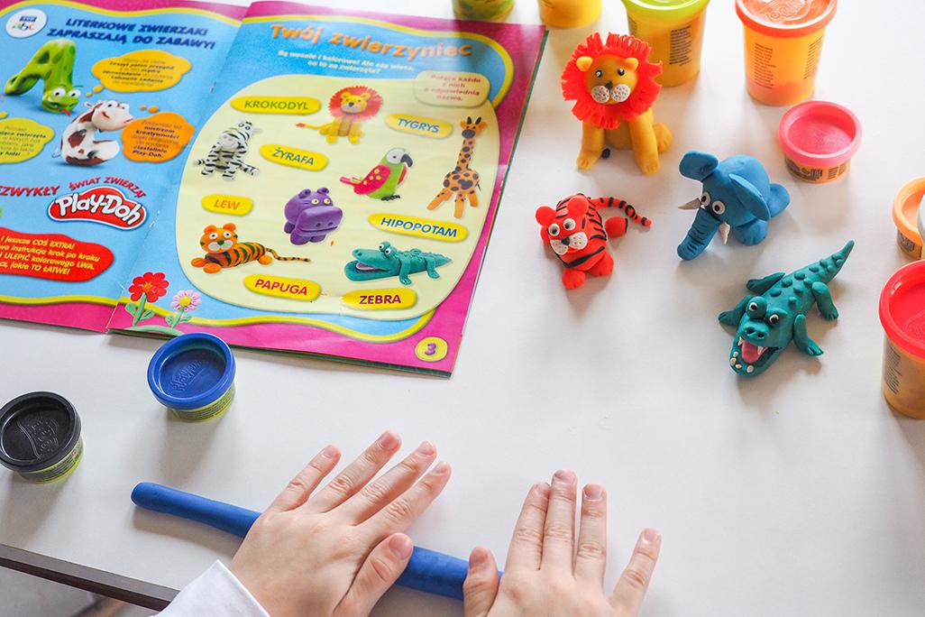 moje dzieci kreatywnie nauka lepienia krok po kroku