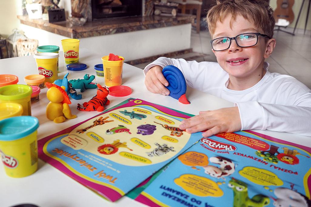 play doh moje dzieci kreatywnie