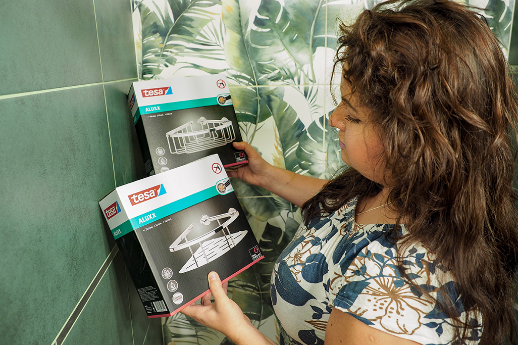 akcesoria łazienkowe tesa, akcesoria łazienkowe bez wiercenia