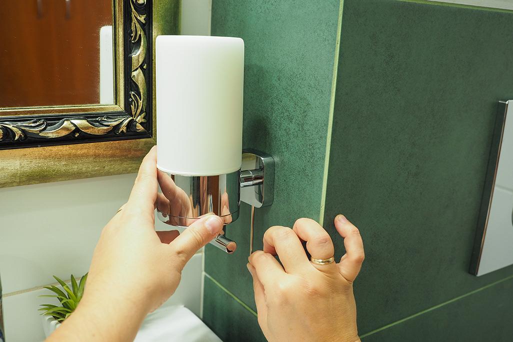 dobre akcesoria łazienkowe tesa, montaż bez wiercenia dziur