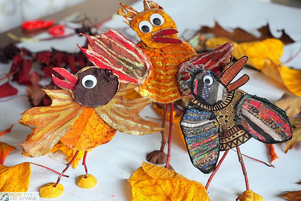 moje dzieci kreatywnie jesień, pomysły na zajęcia w przedszkolu i szkole