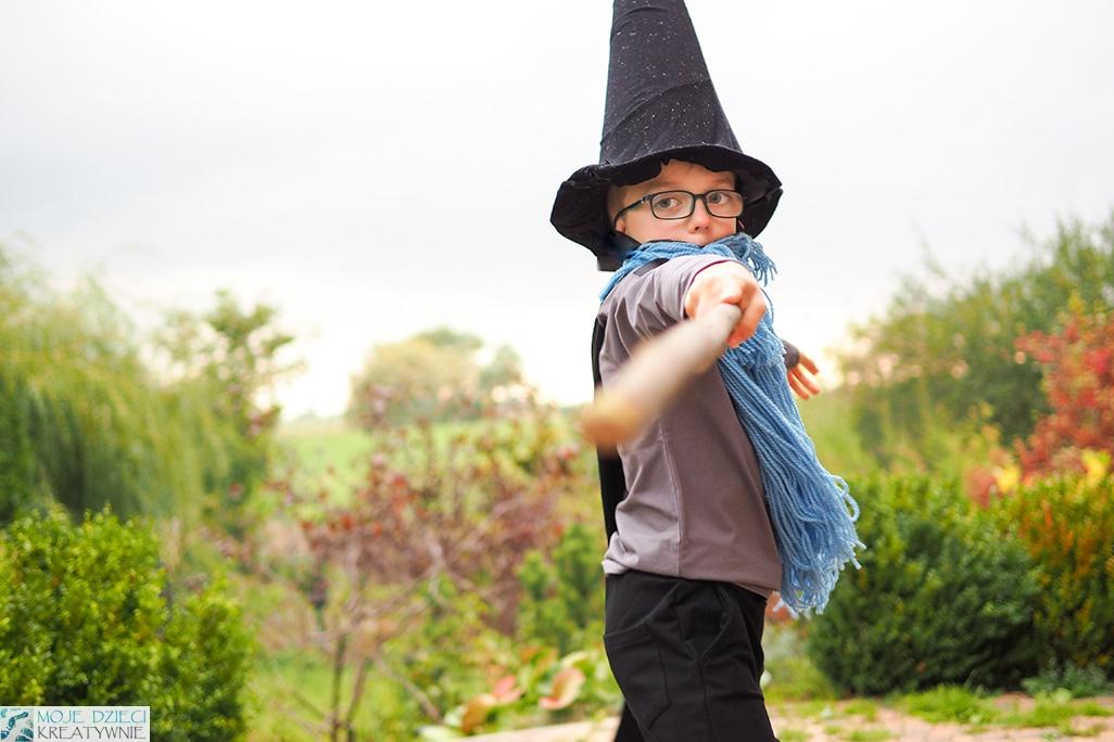 przebranie za czarodzieja, pomysły na przebrania dla dzieci, przebrania dla dzieci na halloween