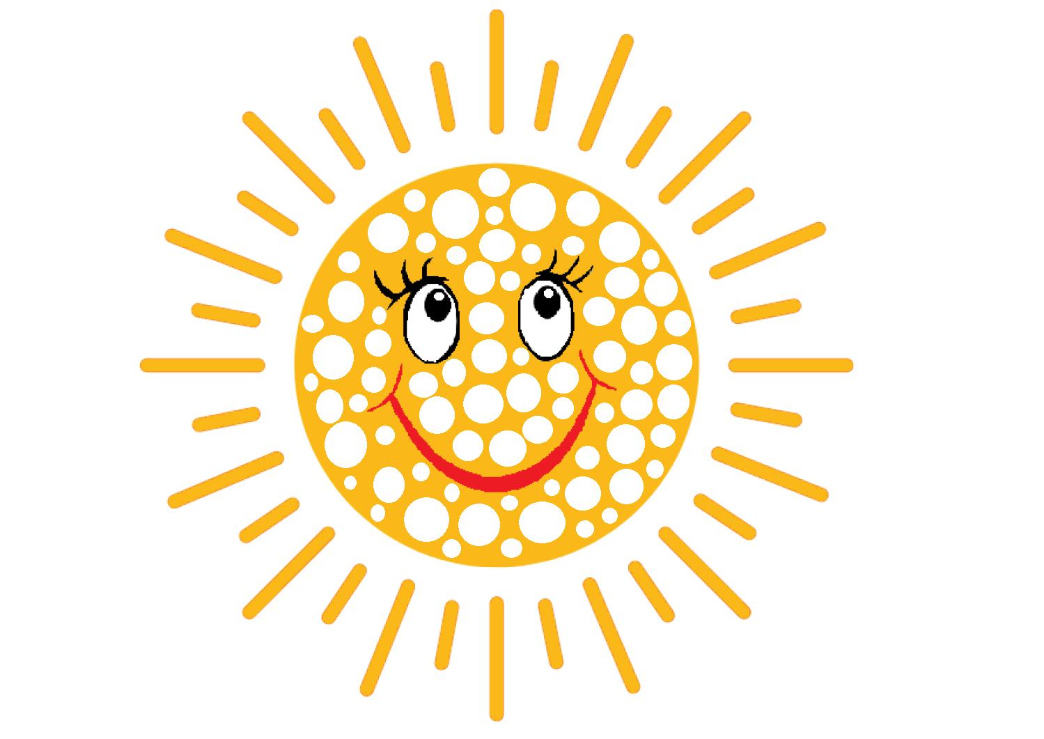 słońce kolorowanka do wyklejnia plasteliną, darmowe karty pracy przedszkole, szablon słońca.