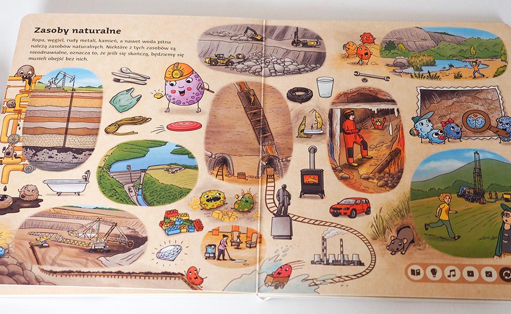zasoby naturalne książka dla dzieci