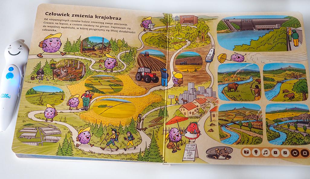 książki przyrodnicze i edukacyjne dla dzieci, czytaj z albikiem