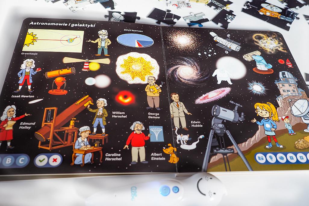 astronauci i galaktyki, książka dla dzieci do albika
