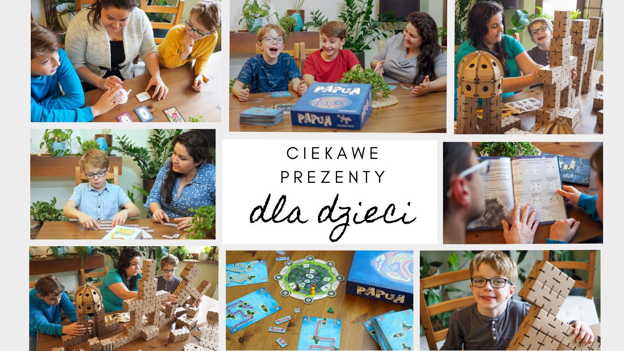 ciekawe pomysły na prezenty dla dzieci