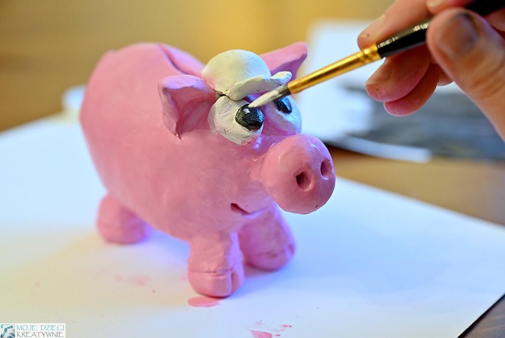 Jak zrobić świnkę skarbonkę