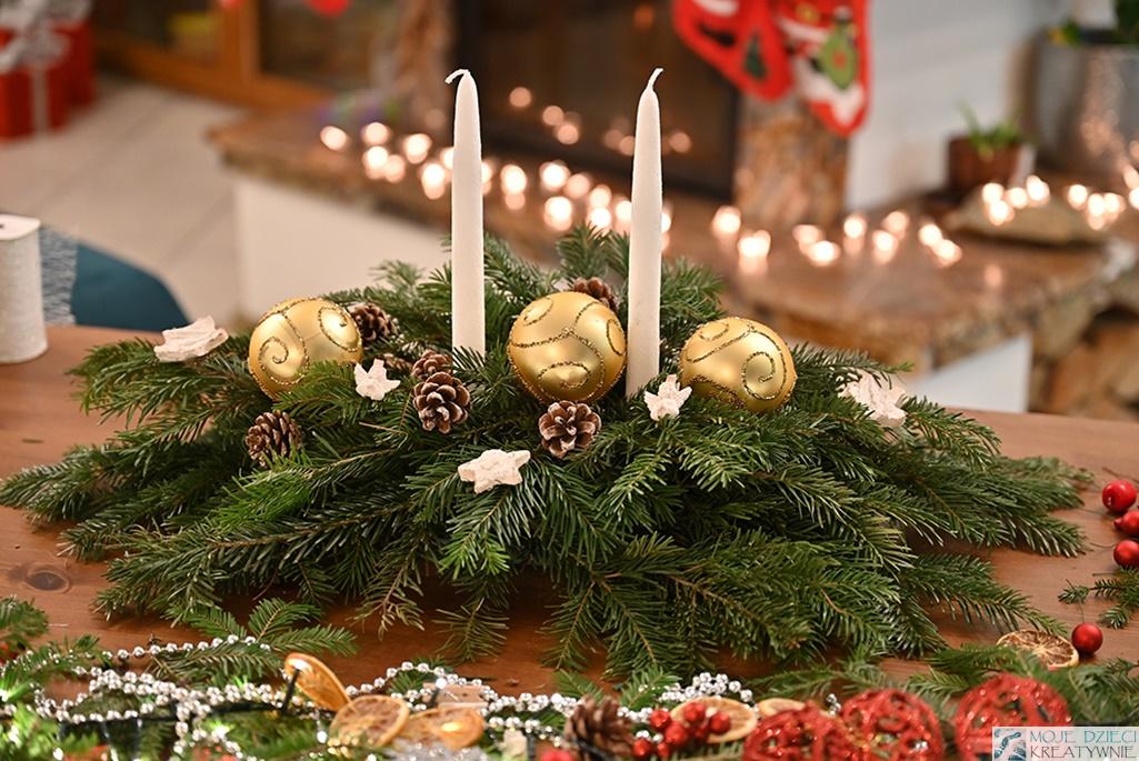 stroik jak zrobić, instrukcja wykonania stroika bożonarodzeniowego, dekoracje świąteczne diy