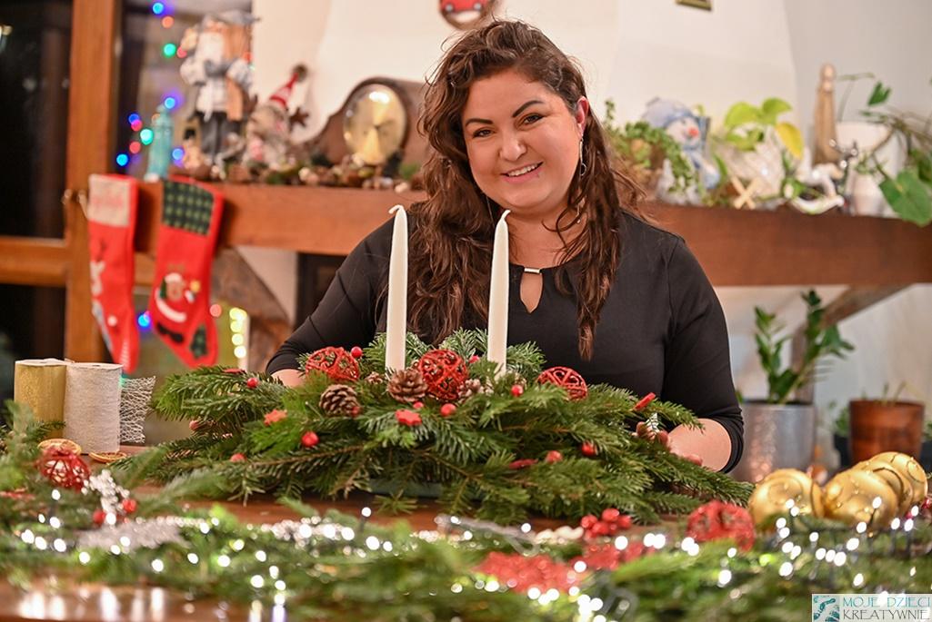 stroiki bozonarodzeniowe, stroiki świąteczne, jak zrobic stroik na świeta bożego narodzenia