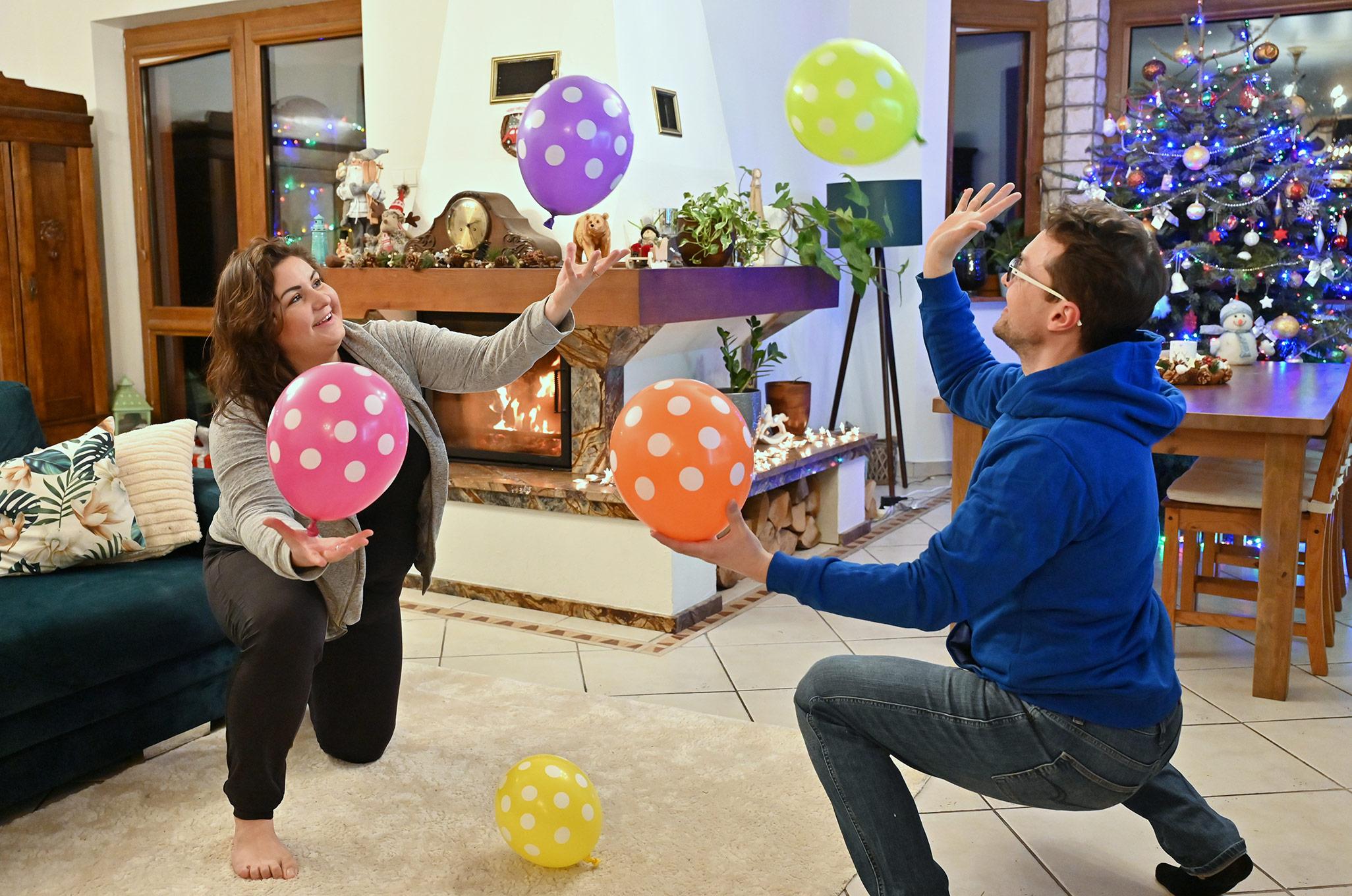 pomysły na zabawy z balonami