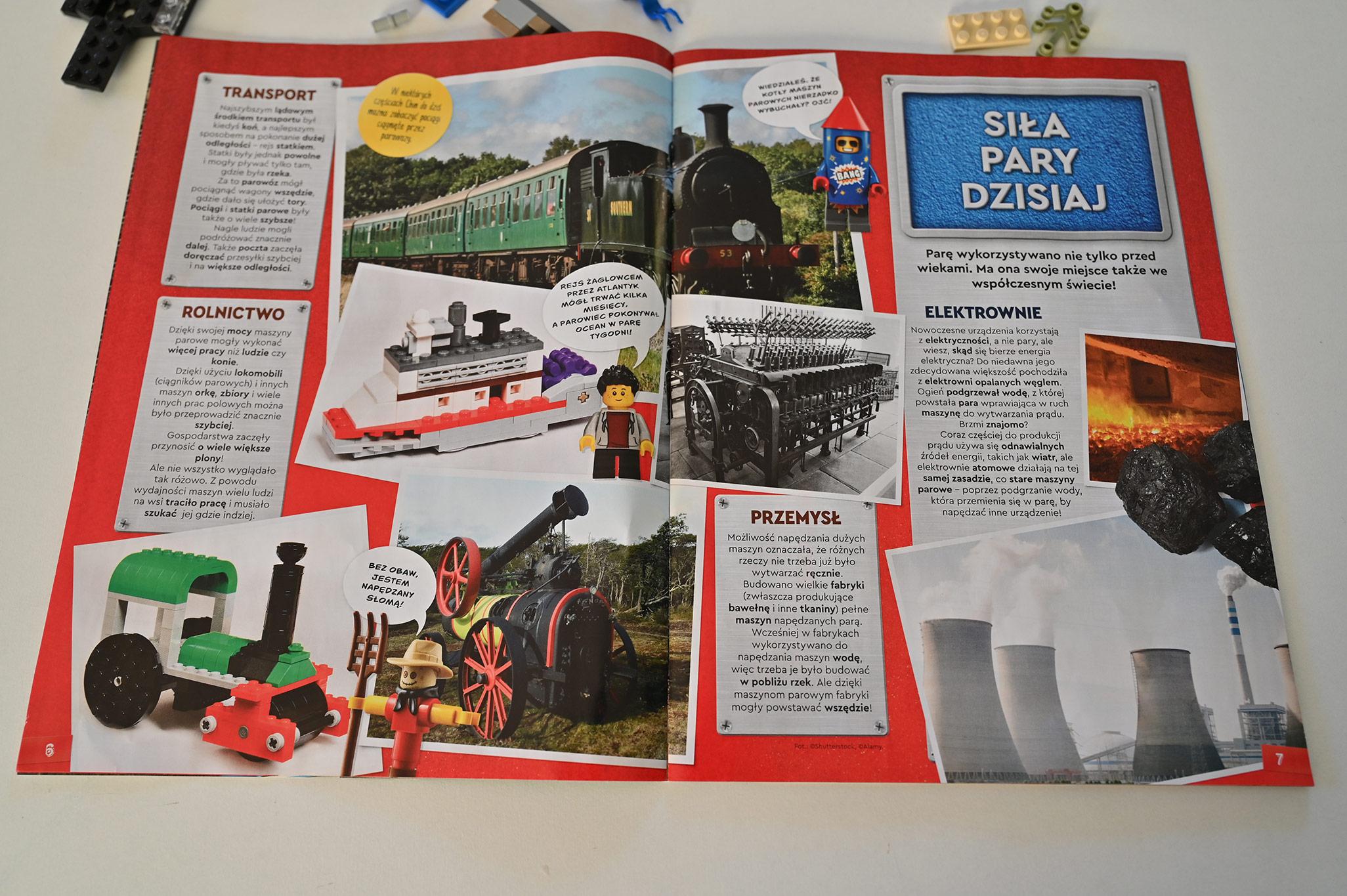 Pomysły na budowle z Lego, magazyn lego explorer