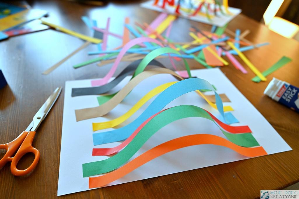 prace plastyczne z papieru