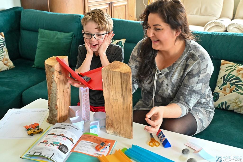 moje dzieci kreatywnie, eksperymenty dla dzieci, doświadczenia dla dzieci, młody inżynier