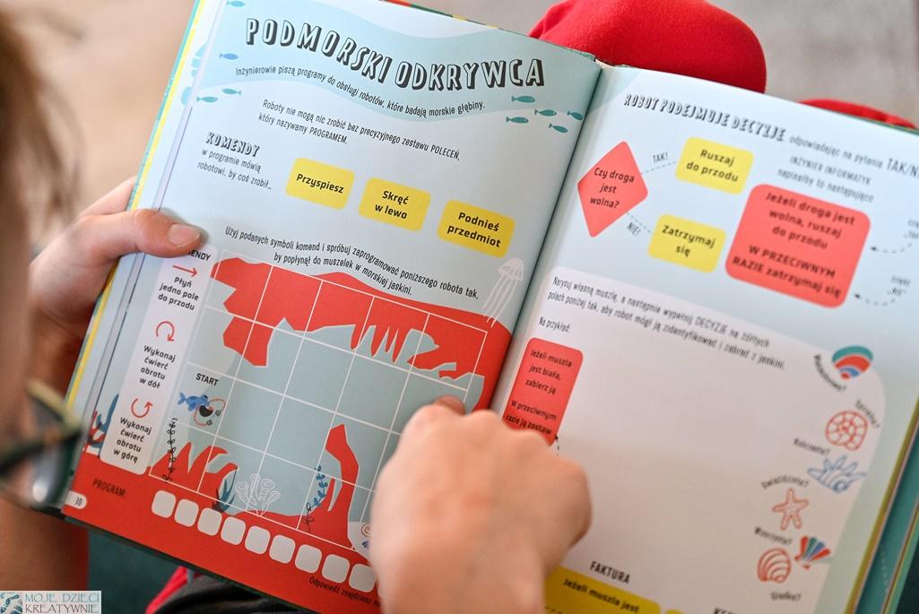 młody inżynier, notatnik, książka dla dzieci, edukacja przez zabawę