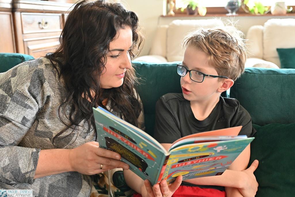 recenzje książek dla dzieci, czytamy książkę młody inżynier