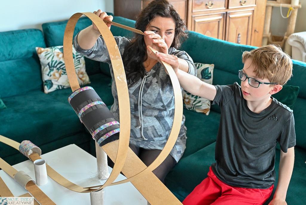 kreatywne blogi rodzinne, edukacja domowa, zabawy konstrukcyjne dla dzieci