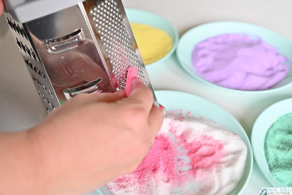 szybkie barwienie soli