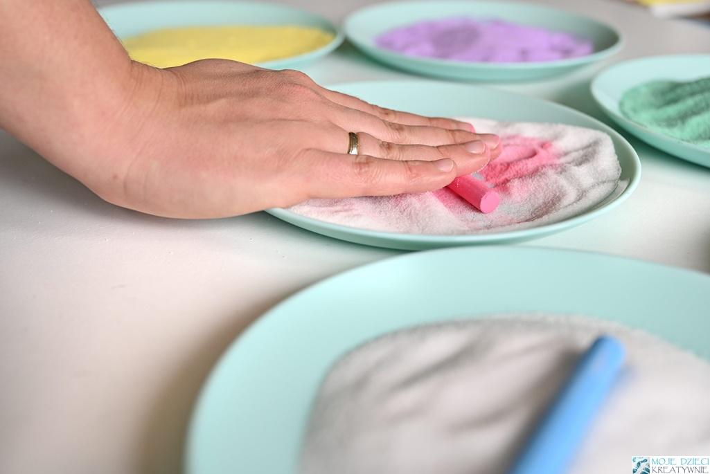 barwienie soli, jak zabarwić sól