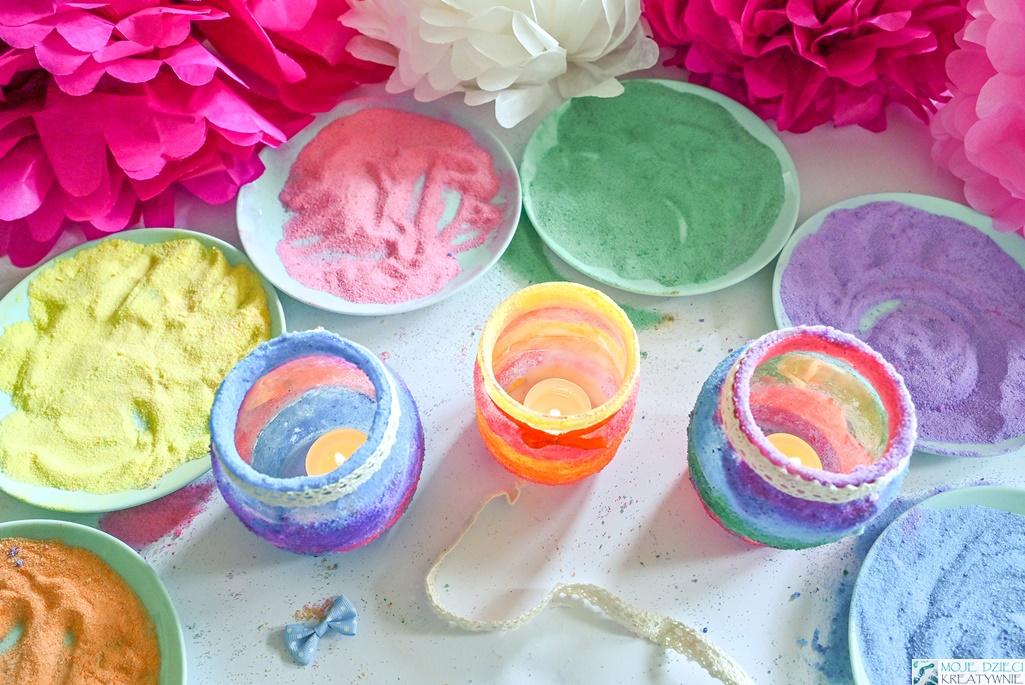 barwienie soli, jak zabarwić sól, co zrobić z kolorowej soli