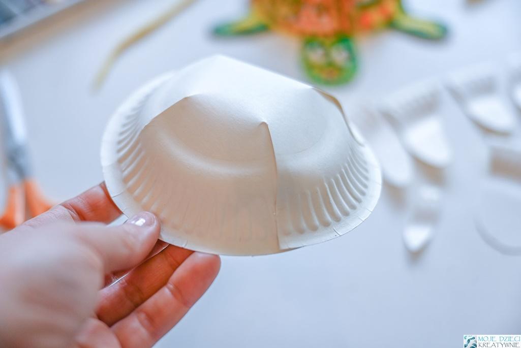 kreatywne pomysły na prace plastyczne z papierowego talerzyka