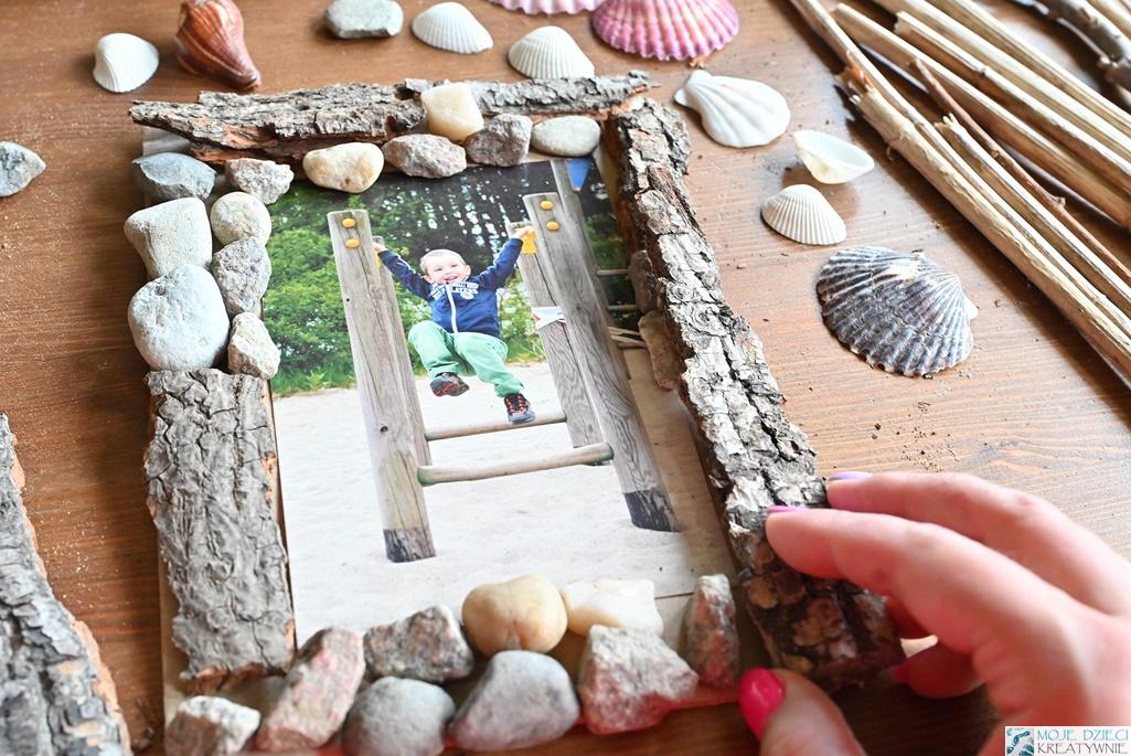 domowe sposoby na ramki na zdjęcia, ramka diy, pomysłowe ramki na zdjęcia zrób to sam