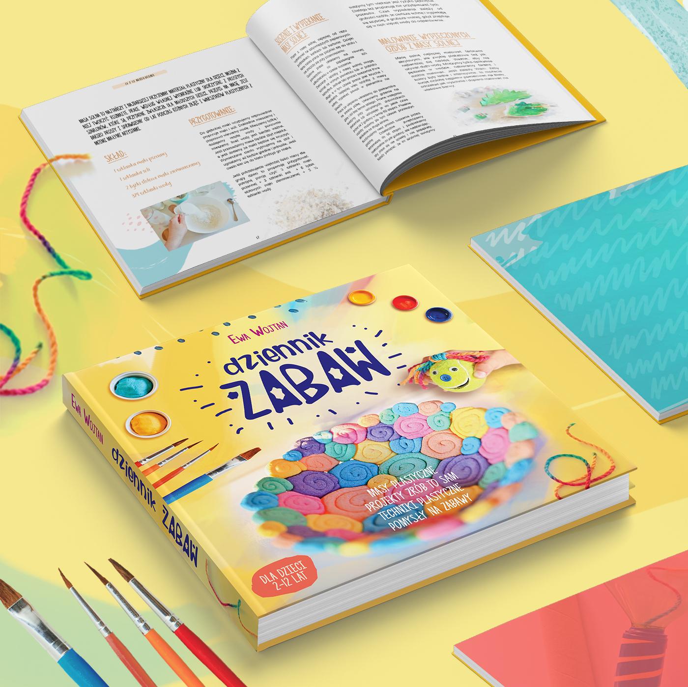 książka z zabawami dla dzieci, dziennik zabaw, ewa wojtan, moje dzieci kreatywnie