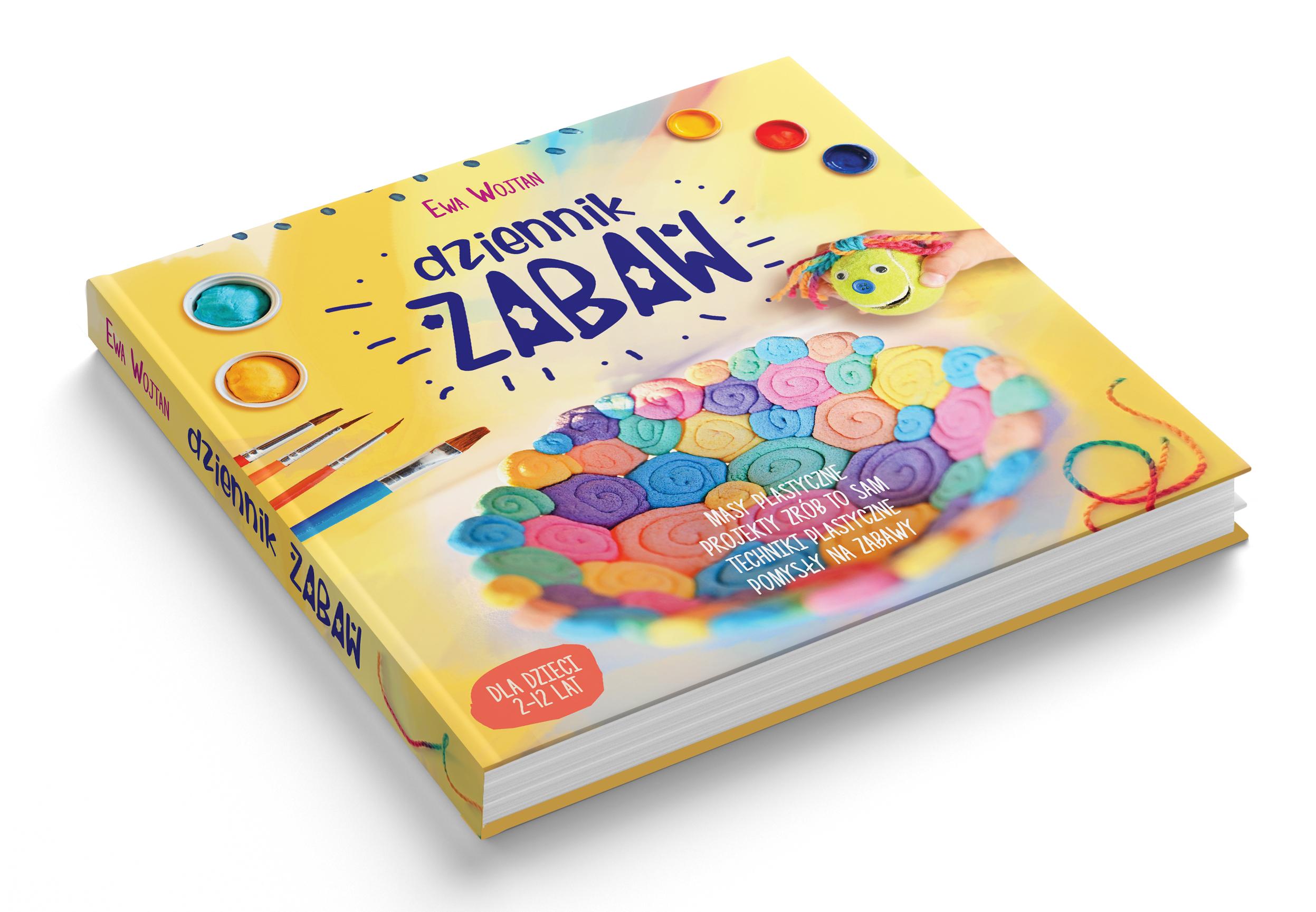 książka Ewy Wojtan, Moje Dzieci Kreatywnie, dziennik zabaw