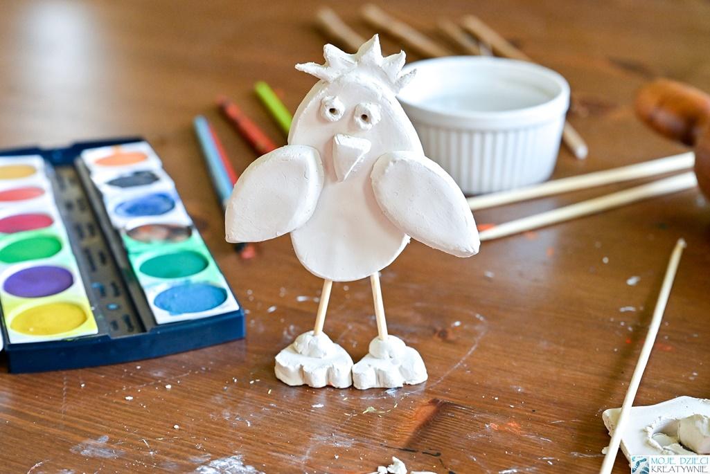 glina samoutwardzalna, co można ulepić z gliny, ptaki praca plastyczna