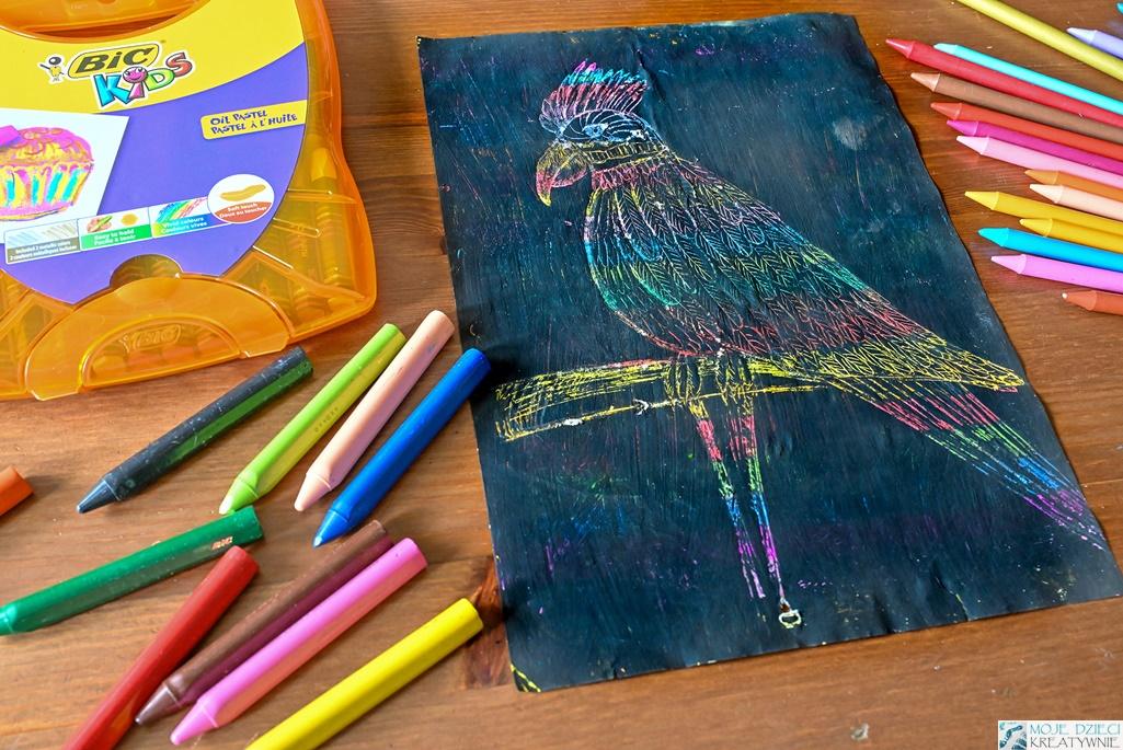 techniki plastyczne dla dzieci, co można zrobić kredkami, jak zachęcić dziecko do rysowania, moje dzieci kreatywnie prace plastyczne