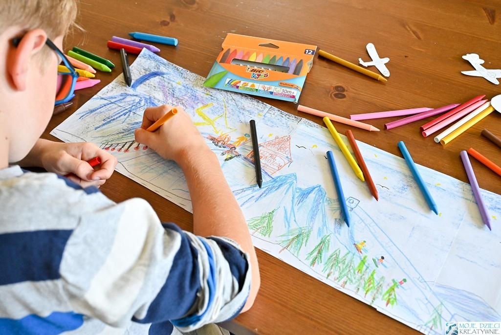 moje dzieci kreatywnie, nauka rysownia dla dzieci, jak zachęcić dziecko do rysowania
