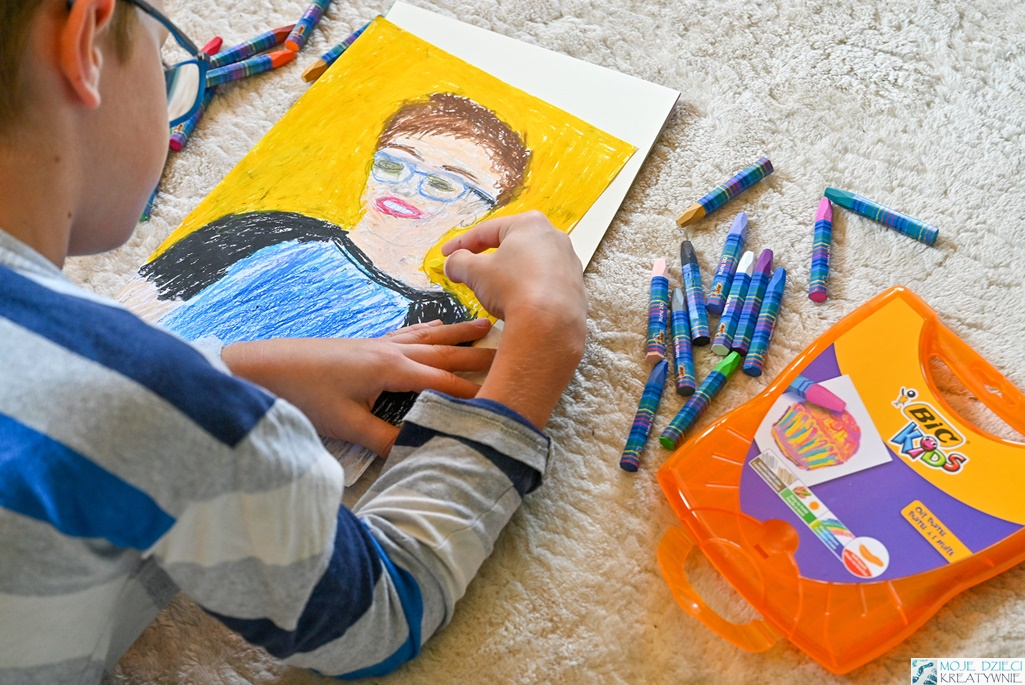 Jak zachęcić dzieci do tworzenia i rysowania, moje dzieci kreatywnie prace plastyczne, pomysły