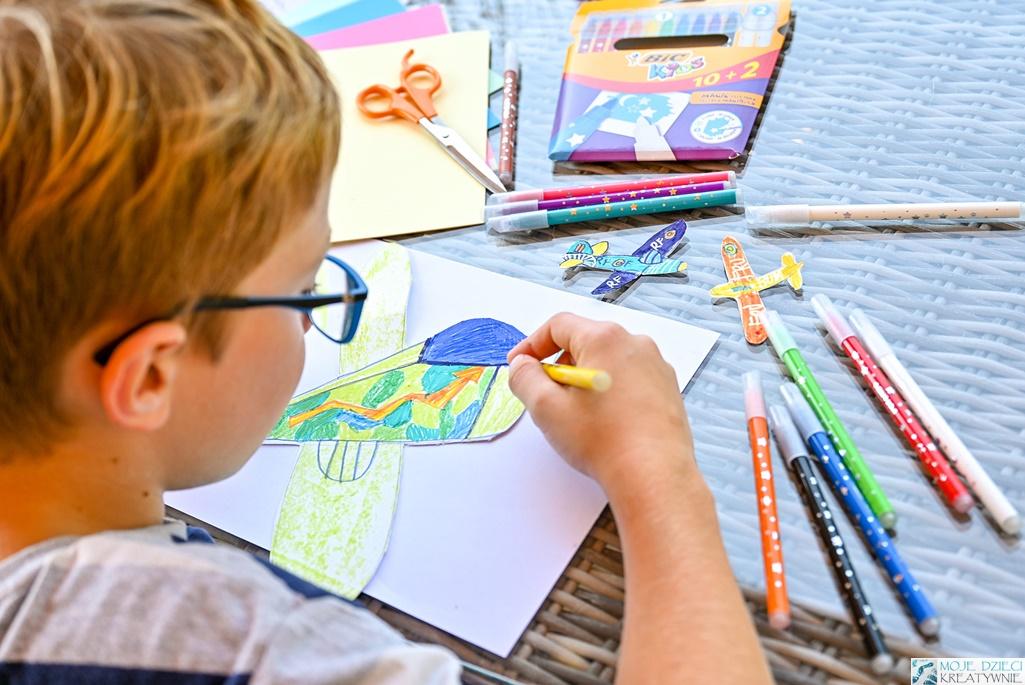 ciekawe pomysły na prace plastyczne, jak zachęcić dziecko do kolorowania i rysowania, moje dzieci kreatywnie