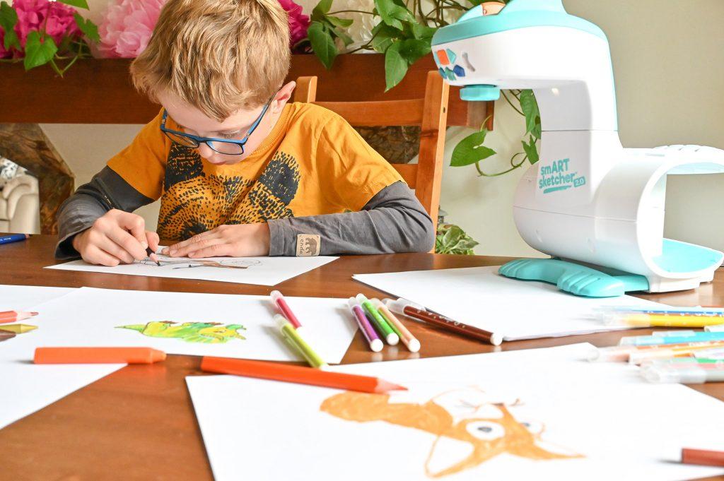 projektor do rysowania dla dzieci smart sketcher, opinie, empik