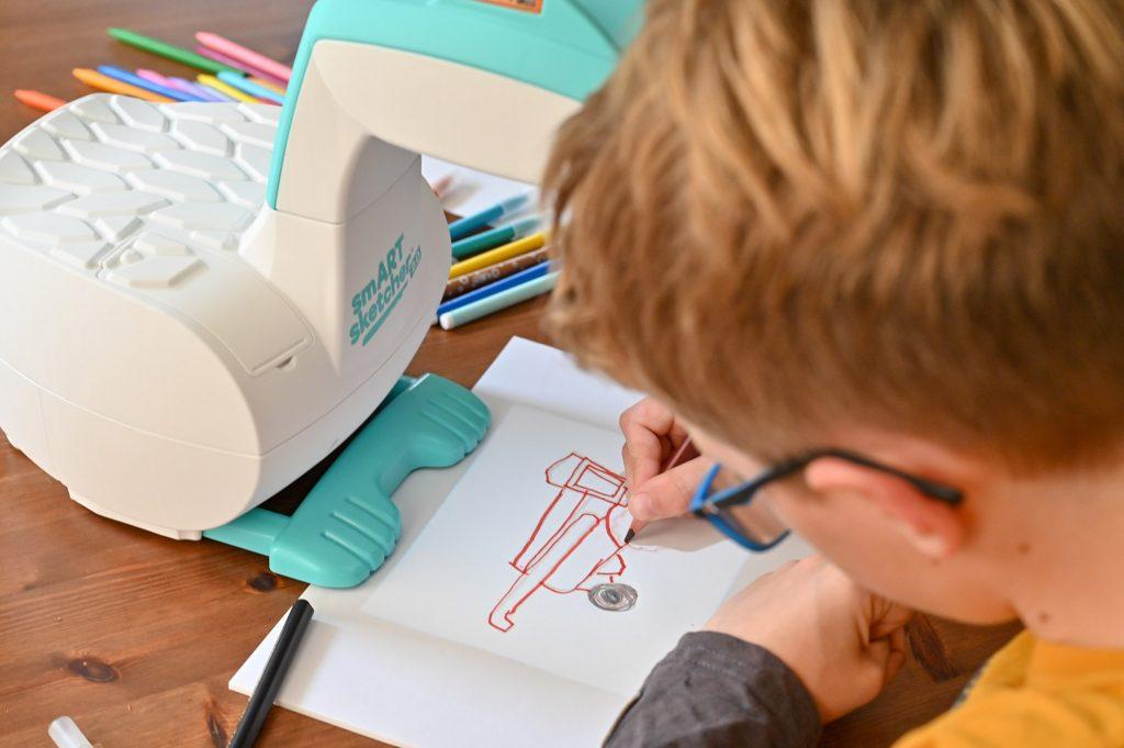 projektor do nauki rysowania dla dzieci
