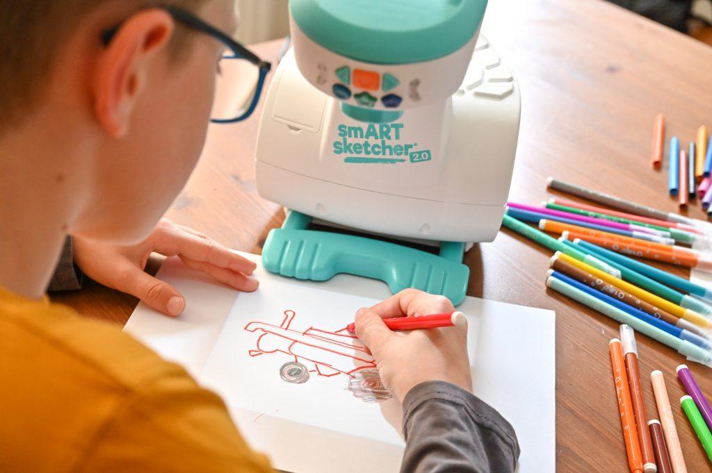 projektor do rysowania dla dzieci krok po kroku
