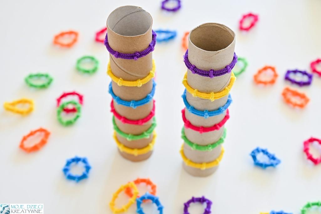 nauka przez zabawę, edukacja domowa, naukz kolorów, zabawy w domu, kreatywne zabawy dla dzieci