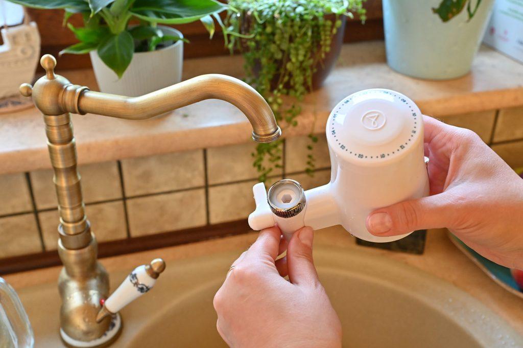 Filtr na kran, filtr do wody na kran, filtry tapp water, montaż filtra do wody na kran